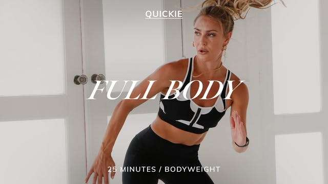 25 MIN SWEATY SCULPT EXPRESS FULL BODY