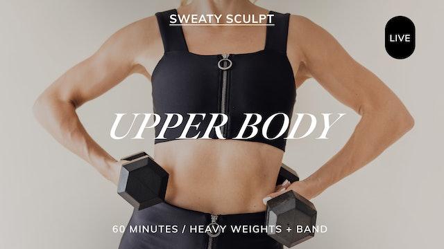 *LIVE* SWEATY SCULPT UPPER BODY 11/12