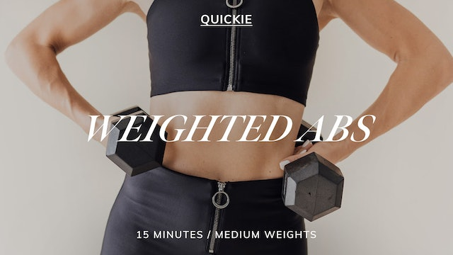 15 MIN SEQUENCE WEIGHTED ABS 5/17
