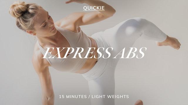 15 MIN EXPRESS BARRE ABS 3/1