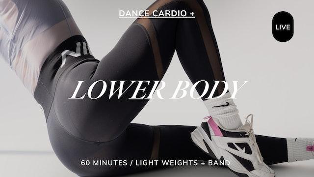 *LIVE* DANCE CARDIO + LOWER BODY 6/10
