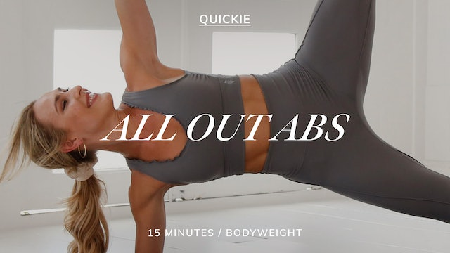 15 MIN ALL OUT ABS