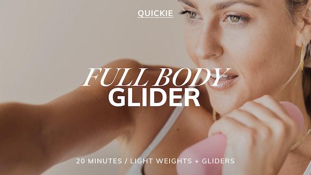 20 MIN FULL BODY GLIDER