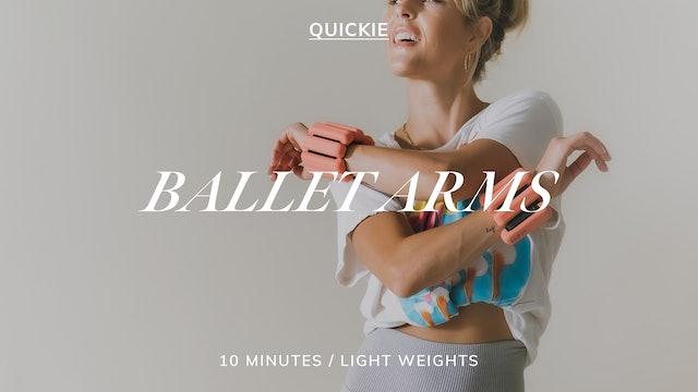 10 MIN BALLET ARMS 5/3