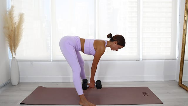 40 Min Toned Hamstrings + Booty (Weig...