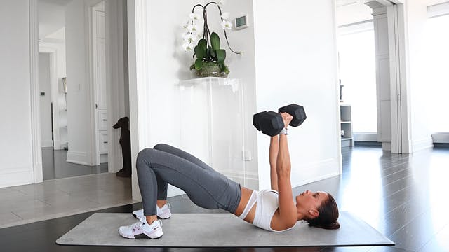 40 Min Weighted Abs + Arms