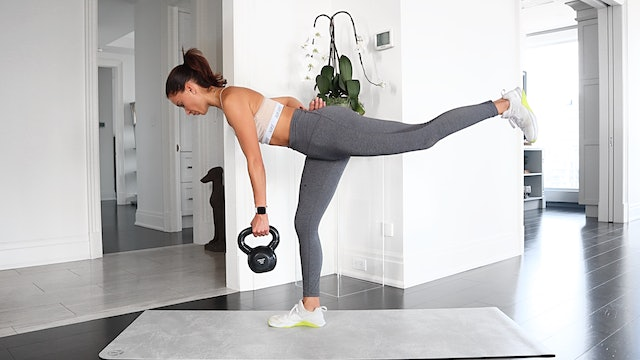 26 Minute Full Body Kettlebell