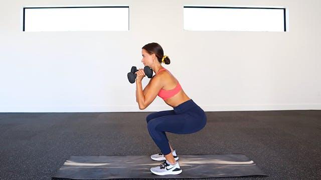 35 Min Toned Legs + Butt (Weight Opti...