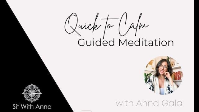 SWK Quick to Calm Meditation