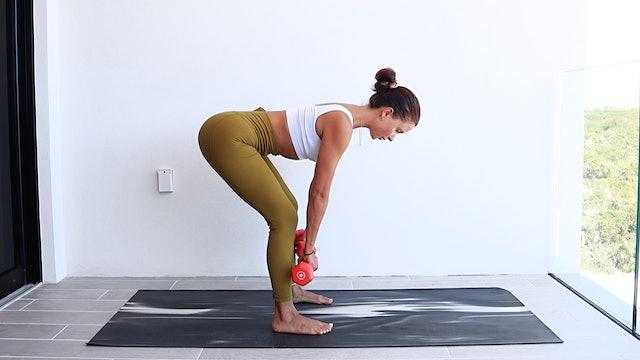 25 Min Cardio, Legs + Booty