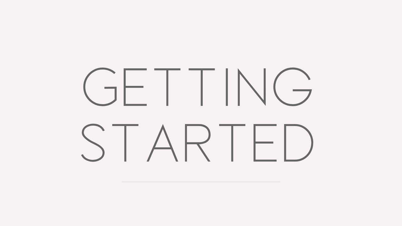 Getting Started + What to Expect w/ SWK