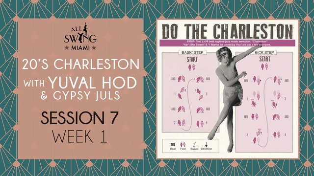 20's Charleston Session 7 Week 1