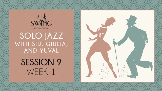 Solo Jazz Session 9 Week 1