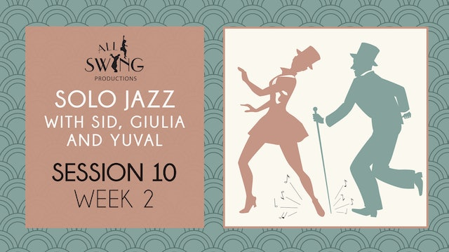 Solo Jazz Session 10 Week 2