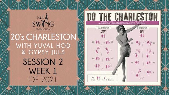 20s Charleston Session 2 Week 1 2021
