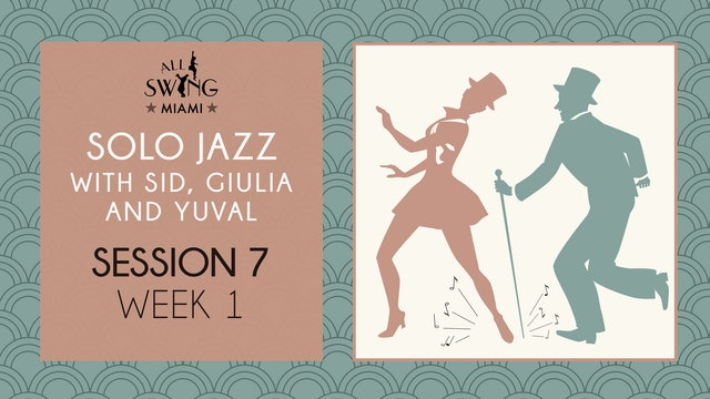 Solo Jazz Session 7 Week 1