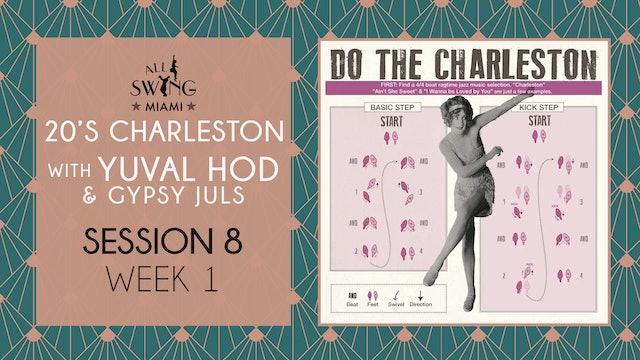 20's Charleston Session 8 Week 1