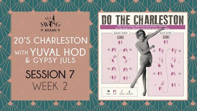 20's Charleston Session 7 Week 2
