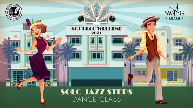 Art Deco Weekend's Solo Jazz Class