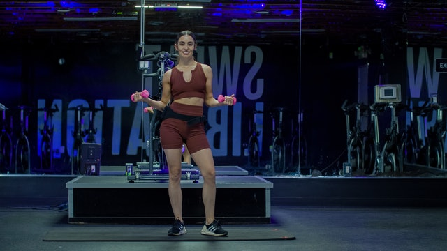 30 Mins Arms & Legs Toning with Hannah | July 25, 2021