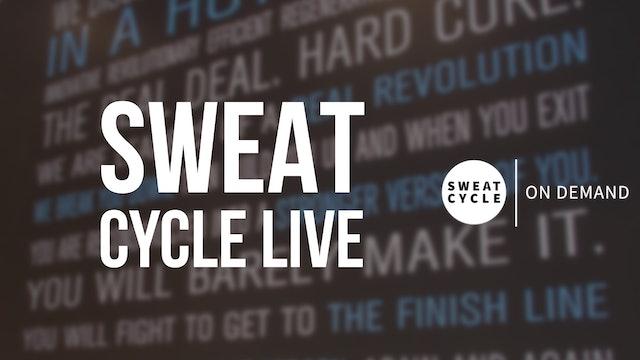 LIVE Sweat Cycle 50 with Jason