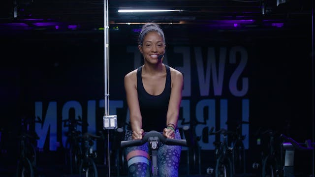 Sweat Cycle 50 with Latosha