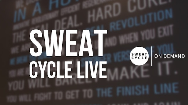 Sweat Cycle 50 with Amy   Self Love Empowerment Ride