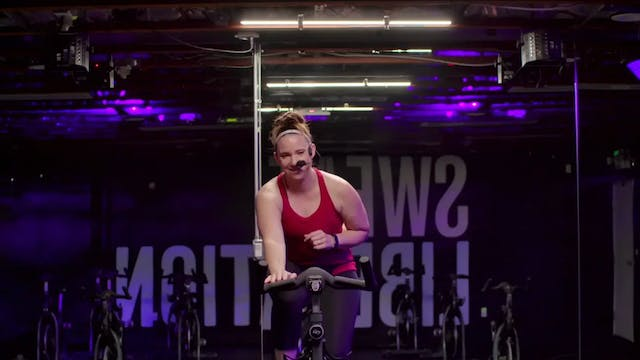 Live Sweat Cycle 50 with Amy | Self L...