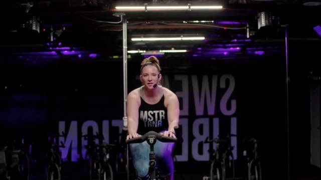 Live Sweat Cycle 50 with Amy