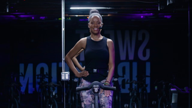 Sweat Cycle 50 with Latosha | Inspiration Sunday Ride