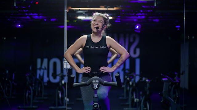 Sweat Cycle 50 with Liz