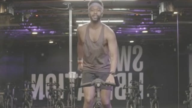 Live Sweat Cycle 50 MLK Ride with Tommy
