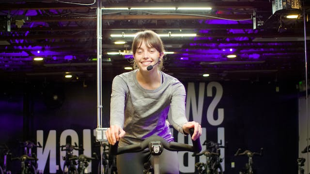 Sweat Cycle 50 with Callie