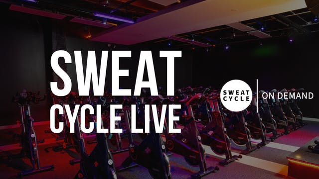 Sweat Cycle 50 with Amy | January 24, 2021