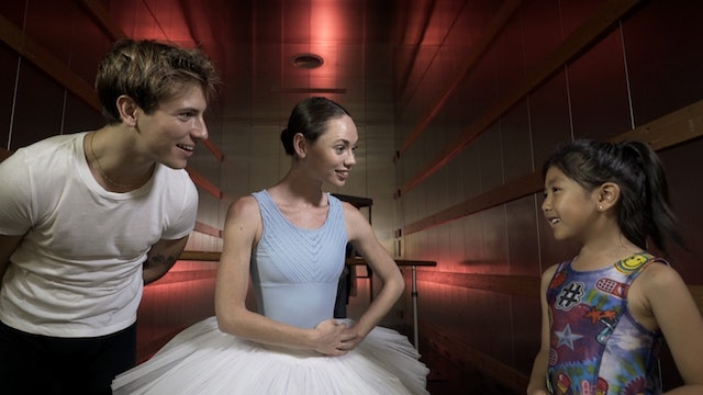Who's in the Lift? Two Ballet Dancers!