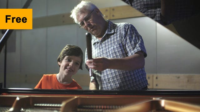 Who's in the Lift? A piano tuner! | E...