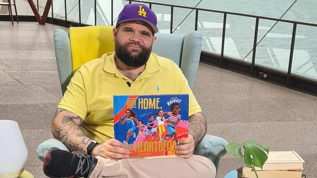 Adam Briggs reads Our Home Our Heartb...