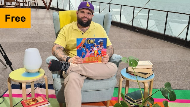 Adam Briggs reads Our Home Our Heartbeat | Footlights & Booklights