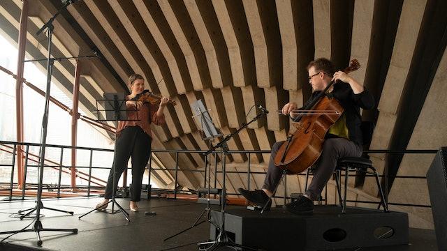 Liisa Pallandi and Timo-Veikko Valve perform Bach & Jacquet de La Guerre