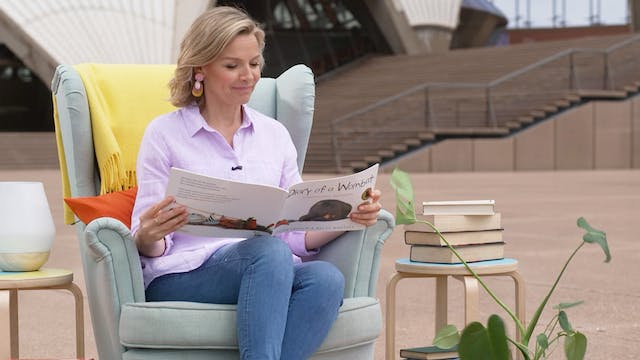 Justine Clarke reads Diary of a Womba...