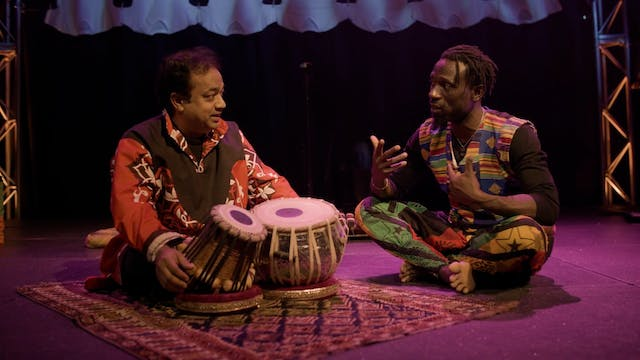 Infusion Cast Talk: African and Indian Instruments