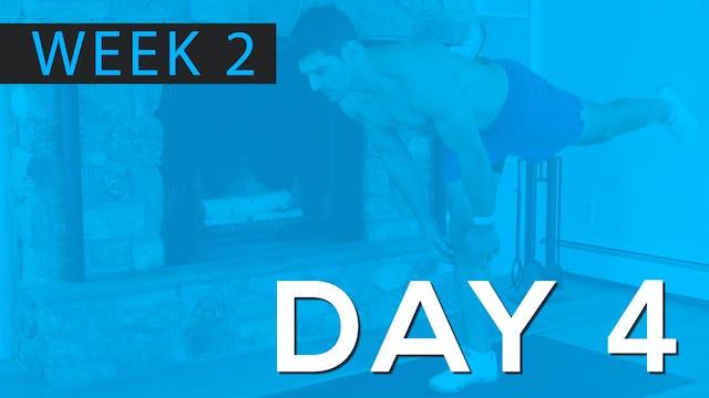 Week 2 | Day 4 | Bodyweight