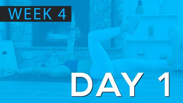 Week 4 | Day 1 | Bodyweight