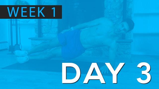 Week 1 | Day 3 | Bodyweight