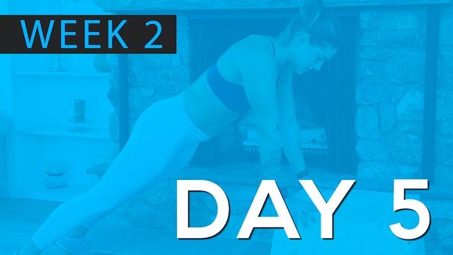 Week 2 | Day 5 | Bodyweight