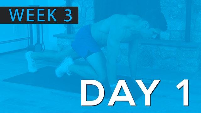 Week 3 | Day 1 | Bodyweight