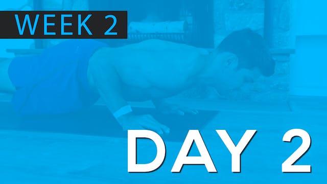 Week 2 | Day 2 | Bodyweight