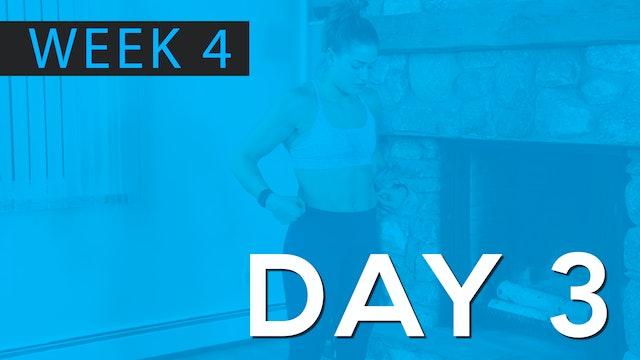 Week 4 | Day 3 | Bodyweight