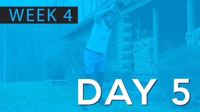 Week 4 | Day 5 | Bodyweight | Final Workout