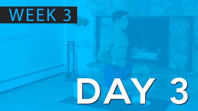 Week 3 | Day 3 | Bodyweight